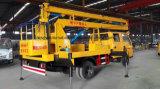 15 Meter doppelte Fahrerhaus-große Höhe-Arbeits-LKW-