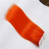 Erstklassige 7A Remy Haar-Webart, synthetischer Haar-Extensions-Franzose-Rotation-Haar-Einschlagfaden