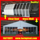 Glaswand-Hochzeitsfest-Festzelt-Ereignis-Zelt mit Pagode