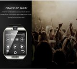 Samsungの人間の特徴をもつ携帯電話SIMのカードによって反失われるタッチ画面のためのBluetoothの腕時計の携帯電話Dz09