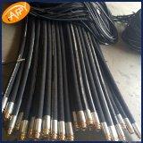 Tuyau hydraulique tressé de fil de SAE100 R17