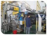 炭化の紙加工機械