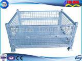 Клетка ячеистой сети высокого качества Stackable стальная/клетка хранения (FLM-K-002)