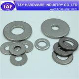 Rondelle plate d'acier inoxydable de la taille DIN9021 normale