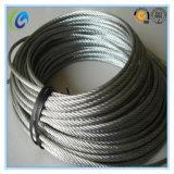 Высокуглеродистая стальная веревочка провода Ungalvanized