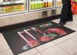 Im Freien einbrennender Belüftung-Vinylinnenplastik unterstützte die gedruckte/Druck Inlandsgeschäft Coprorate Firmenzeichen-Geschenk-Werbegeschenk-Förderung willkommene Eingangs-Fußmatten