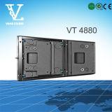 Vt4880 verdoppeln 18inch Zeile Reihe Subwoofer, das mit Spitzenlautsprecher verwendet wird