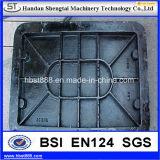 Couverture de trou d'homme malléable de qualité de fer En124 C250
