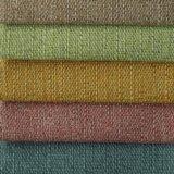 Tissu 100% de sofa de textile de polyester de plaine