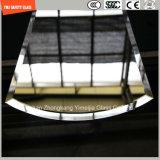 Brown & зеркало серого цвета прокатывая стеклянное для гостиницы, домашнего украшения