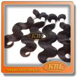Modèle de cheveux malaisien de catégorie de la vente en gros 6 aux Etats-Unis