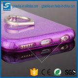 voor Luxe schitteren Dames 3 in 1 Plateren de Houder van de Ring van het Poeder voor iPhone 7 het Geval van de Rugdekking