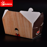 Устранимое Color Printed Paper Package Box для Food