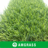 para o PE Monofilament Yarn Artificial Grass de Landscaping Abrasion Resistant (AMUT327-35D)