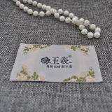 Ярлыки OEM сплетенные полиэфиром для ткани /Garment/Dress одеяния