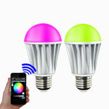 Bluetooth/WiFi/de RGB/RGBW LED Bulb