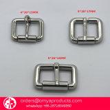 調節装置はファッション小物の金属のリングの金属のバックルのベルトの留め金を締める