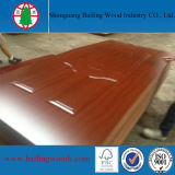 Piel moldeada melamina de la puerta de la buena calidad HDF