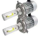 Faro automatico dell'indicatore luminoso di nebbia della lampadina dei fari dell'automobile LED della PANNOCCHIA 72W del faro del LED 6500k per Anycar