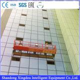 Платформа чистки окна Китая временно ая с вашгердом