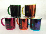 Tasse métallique de sublimation, tasse brillante de sublimation