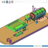 Oil Recycling Plant Good Cooling Systemへの熱分解Tyre