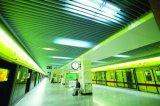 Tuiles décoratives en aluminium de plafond d'économie de coûts