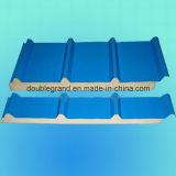 El panel de /Wall de la azotea del emparedado del poliuretano para la estructura de acero