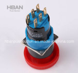 Hban (16mm) Waterproof Emergency Stop Pushbutton Switch