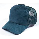Tampão em branco liso feito sob encomenda do engranzamento do camionista do chapéu da camurça