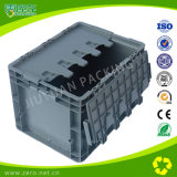 Grauer Farben-Hochleistungsspeicher-beweglicher Plastikbehälter mit Kappe