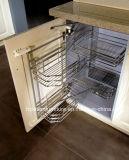 Module de cuisine personnalisé classique blanc en bois solide