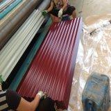 鋼板のタイルかシートによって電流を通される鋼鉄建築材料に屋根を付けることに屋根を付ける