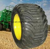 500/60-22.5 Landwirtschaftliche Bauernhof-Maschinerie-Schwimmaufbereitung-Schlussteil-Reifen für Spreizer, Erntemaschine, Tanker-Sortierfächer