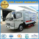 Camion de nettoyage de rue de roues de la balayeuse de route de Dongfeng 4*2 6