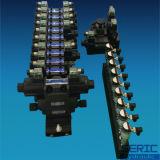 Válvulas direcionais com solenóide de óleo hidráulico
