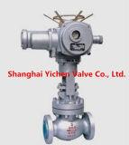 Acier modifié par le robinet d'arrêt sphérique de la Chine de bride de voie (J41Y)