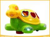 Elektronische Spielwaren-Schildkröte-Block-Spielwaren mit Musik und Lichtern
