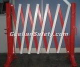Barreira galvanizada móvel de aço da estrada da segurança de estrada com rodas