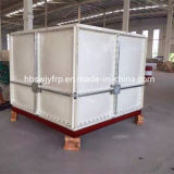 10-1500cbm Fiberglass Reinforced Plastic Panels Assembled FRP SMC Sectional Water Tank für Drinking Water Storage