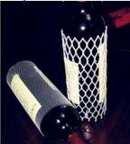 De beste Netto Koker van de Bescherming van het Gebruik van de Fles van de Wijn van het Glas van de Kwaliteit Verpakkende Plastic