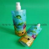 Shampoo& Bodywashのための口が付いているペットかPet/PEのスタンドアップ式の袋袋
