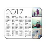 Горячий продавая коврик для мыши 2017 календаров