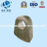 Alta pista de martillo del acero de manganeso