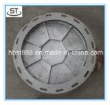 Couverture de trou d'homme ronde d'En124 D400 C/O 600mm avec la vis