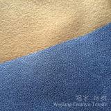 Tissus en cuir composés de duvet de Shammy de somme de suède de polyester