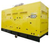 Ce/CIQ/Soncap/ISOの承認のパーキンズエンジン2806c-E18tag2を搭載する650kVA極度の無声ディーゼル発電機