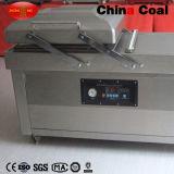 Máquina de empacotamento dobro do vácuo do alimento da câmara de Dz500-2sb