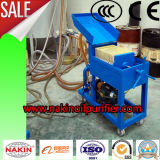Système de filtration de pétrole de rebut des prix inférieurs, machine de nettoyage de pétrole