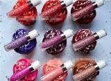 La dose de couleurs du rouge à lievres 12 de couleurs imperméabilisent la mode Lipgloss liquide mat/rouge à lievres cosmétique